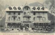 """38 Isere / CPA FRANCE 38 """"Bourg d'Oisans, le grand hôtel """""""