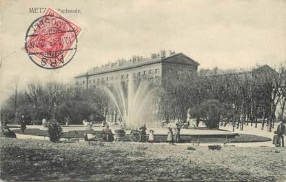 """/ CPA FRANCE 57 """"Metz, esplanade """""""