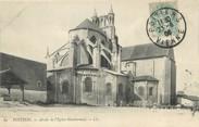 """86 Vienne / CPA FRANCE 86 """"Poitiers, abside de l'église Montierneuf"""""""