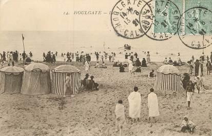 """/ CPA FRANCE 14 """"Houlgate, la mer et la plage"""""""
