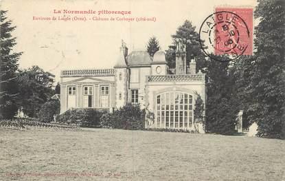 """/ CPA FRANCE 61 """"Environs de L'Aigle, château de Corboyer"""""""