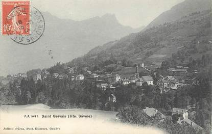 "/ CPA FRANCE 74 ""Saint Gervais"""