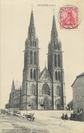 "/ CPA FRANCE 68 ""Munster"""