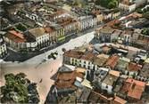 """33 Gironde / CPSM FRANCE 33 """"Langon, le centre de la ville"""""""