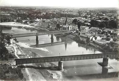 """/ CPSM FRANCE 33 """"Langon, les ponts"""""""