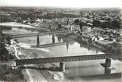 "33 Gironde / CPSM FRANCE 33 ""Langon, les ponts"""