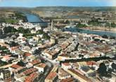 """33 Gironde / CPSM FRANCE 33 """"Langon, le centre de la ville """""""