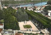 "33 Gironde / CPSM FRANCE 33 ""Langon, jardin public"""