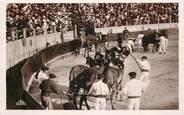 """Theme CPSM CORRIDA """"Course de taureaux, enlèvement des victimes"""""""