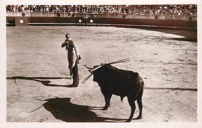 """CPSM CORRIDA """"Course de taureaux, l'entrée à la mort"""""""