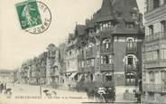 """80 Somme / CPA FRANCE 80 """"Mers Les Bains, les villas et la promenade"""""""