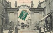 "55 Meuse / CPA FRANCE 55 ""Ligny en Barrois, porte de la rue de Bar Le Duc"""