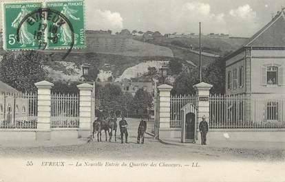 """/ CPA FRANCE 27 """"Evreux, la nouvelle entrée du quartier des chasseurs"""""""