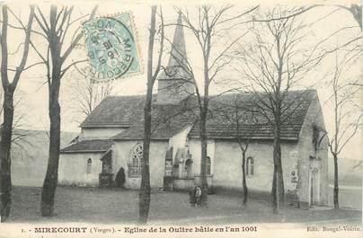 """/ CPA FRANCE 88 """"Mirecourt, église de la Oultre"""""""