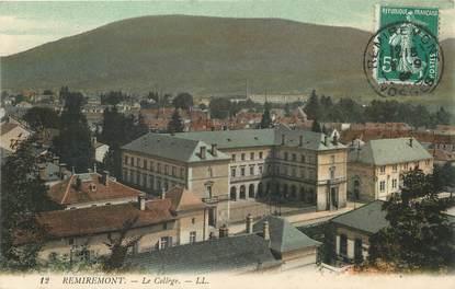 "/ CPA FRANCE 88 ""Remiremont, le  collège"""