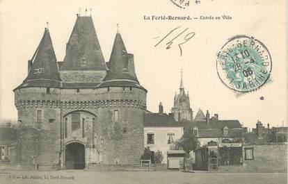"""/ CPA FRANCE 72 """"La Ferté Bernard, entrée de la ville"""""""