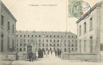 "/ CPA FRANCE 72 ""Mamers, caserne d'infanterie"""