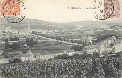 "/ CPA FRANCE 51 ""Epernay, vue générale"""