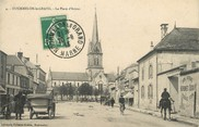 "51 Marne / CPA FRANCE 51 ""Mourmelon Le Grand, la place d'Armes"""