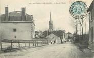"51 Marne / CPA FRANCE 51 ""Mourmelon Le Grand, la rue de l'église"""