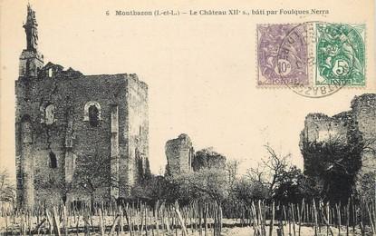 """/ CPA FRANCE 37 """"Montbazon, le château"""""""