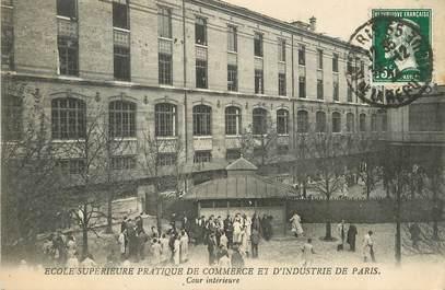 """/ CPA FRANCE 75008 """"Paris, école supérieure pratique de commerce et d'industrie"""""""