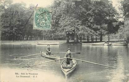 """/ CPA FRANCE 75012 """"Paris, bois de Vincennes, Lac Daumesnil"""""""