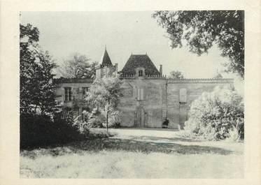 """/ CPSM FRANCE 33 """"Saint Emilion, château Tertre Daugay"""" / CARTE PUBLICITAIRE"""