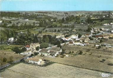 """/ CPSM FRANCE 33 """"Saint Seurin du Bourg, vue panoramique aérienne"""""""