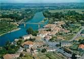 """33 Gironde / CPSM FRANCE 33 """"Pessac sur Dordogne, vue générale aérienne"""""""