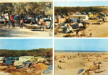 """/ CPSM FRANCE 33 """"Soulac sur Mer"""" / CAMPING"""