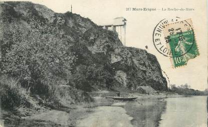 """/ CPA FRANCE 49 """"Murs Erigné, la roche de Murs"""""""
