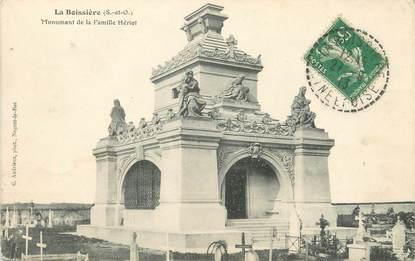 """/ CPA FRANCE 78 """"La Boissière, monument de la famille Hériot"""""""