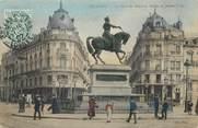 """45 Loiret / CPA FRANCE 45 """"Orléans, la place du Martrois, statue de Jeanne d'Arc"""""""