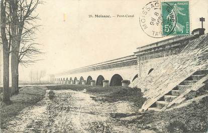 """/ CPA FRANCE 82 """"Moissac, pont Canal"""""""