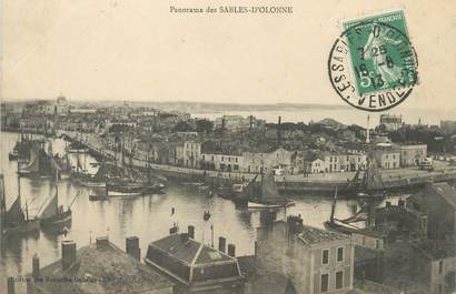 """/ CPA FRANCE 85 """"Sables d'Olonne,  panorama"""""""