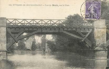 """/ CPA FRANCE 86 """"Pont de Molé"""""""