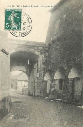"/ CPA FRANCE 90 ""Belfort, porte de Brisach"""