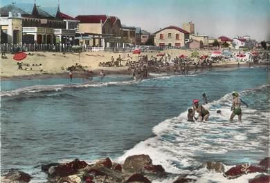 """/ CPSM FRANCE 34 """"Carnon plage, la plage de la rive gauche"""""""