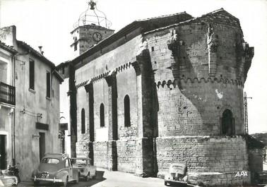 """/ CPSM FRANCE 34 """"Castelnau Le Lez, église Gallo Romaine"""""""