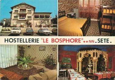 """/ CPSM FRANCE 34 """"Sète, hostellerie Le Bosphore"""""""