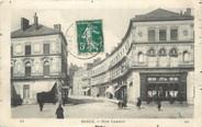 "72 Sarthe / CPA FRANCE 72 ""Sablé Sur Sarthe, rue Carnot"""