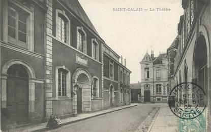 """/ CPA FRANCE 72 """"Saint Calais, le théâtre """""""