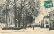 """72 Sarthe / CPA FRANCE 72 """"Château du Loir, le square Lemonnier"""""""