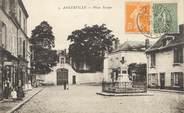"91 Essonne / CPA FRANCE 91 ""Angerville, place Tessier"""