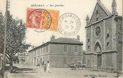 """/ CPA FRANCE 13 """"Miramas, rue Jourdan"""""""