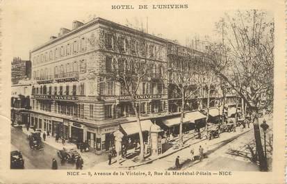 """/ CPA FRANCE 06 """"Nice, hôtel de l'univers"""""""