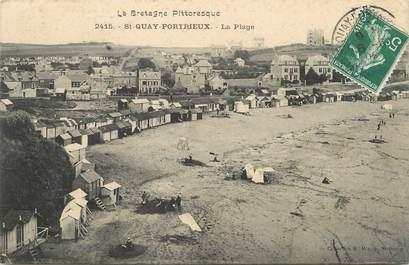 """/ CPA FRANCE 22 """"Saint Quay Portrieux, la plage """""""
