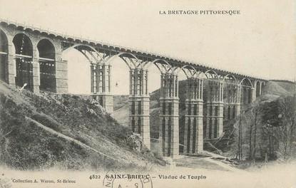 """/ CPA FRANCE 22 """"Saint Brieuc, viaduc de Toupin"""""""