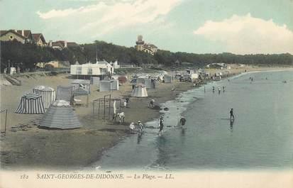 """/ CPA FRANCE 17 """"Saint Georges de Didonne, la plage """""""